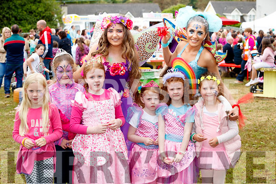 Having fun at the Kilflynn Enchanted Fairy Festival, on Sunday last, were Elsa Griffin, TerrI McCaul with Ella, Lauren and Aoife Louise Lyons, Caoimhe McCaul, Chloe Morris (Poppy the Potion Fairy) and Brogan O'Sullivan (Ruby the Rainbow Fairy).