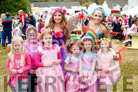 Having fun at the Kilflynn Enchanted Fairy Festival, on Sunday last, were Elsa Griffin, TerrI McCaul with Ella, Lauren and Aoife Louise Lyons, Caoimhe McCaul, Chloe Morris (Poppy the Potion Fairy) and Brogan O'Sullivan (Ruby the Rainbow Fairy).