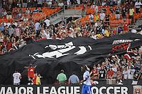 D.C. United fans. D.C. United defeated Montreal Impact 3-0 at RFK Stadium, Saturday June 30, 2012.