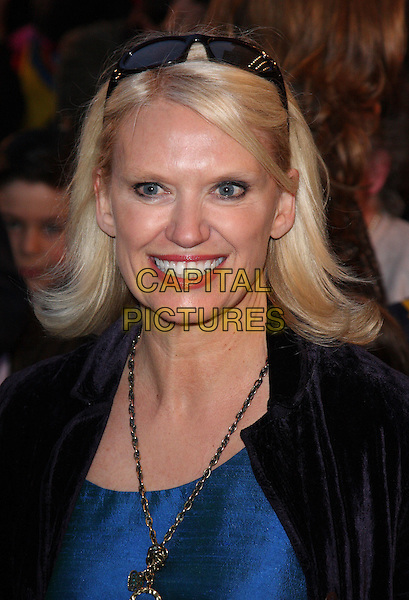 ANNEKA RICE.World Premiere of 'Nanny McPhee and the Big Bang' at the Odeon West End, Leicester Square, London, England..March 24th 2010.headshot portrait smiling blue sunglasses on head necklace black.CAP/ROS.©Steve Ross/Capital Pictures.