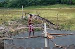 Comunidade de Jerusalém, município de Rubim na região do baixo Jequitinhonha, Norte de Minas Gerais. Nessa região é possível encontrar três tipos de biomas: caatinga, cerrado e mata atlântica. A ASA Brasil, Articulação no Semiárido Brasileiro, tem implementado em diversas comunidades no Norte de Minas o Programa Uma Terra e Duas Águas (P1+2) e o Programa Um Milhão de Cisternas (P1MC) que tem como objetivo viabilizar a captação e armazenamento de água de chuva nessas comunidades para consumo humano, criação de animais e produção de alimentos. Entre os parceiros para implementação dos projetos tem destaque na região a Cáritas Diocesana de Almenara. André Alves Moreira.