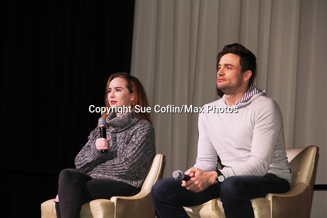 The Young and The Restless actors Melissa Ordway, Daniel Goddard came together on February 16, 2019 for a fan q & a, meet and great with autographs and photo taking hosted by Soap Opera Festival's Joyce Becker at the Hollywood Casino in Columbus, Ohio. (Photos by Sue Coflin/Max Photos)