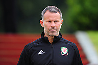 Ryan Giggs Manager of Wales during the Wales Training Session and Press Conference at The Vale Resort in Cardiff, Wales. September 3, 2018