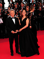 www.acepixs.com<br /> <br /> May 21 2017, Cannes<br /> <br /> Dustin Hoffman (L) and Lisa Hoffman arriving at the premiere of 'The Meyerowitz Stories' during the 70th annual Cannes Film Festival at Palais des Festivals on May 21, 2017 in Cannes, France<br /> <br /> By Line: Famous/ACE Pictures<br /> <br /> <br /> ACE Pictures Inc<br /> Tel: 6467670430<br /> Email: info@acepixs.com<br /> www.acepixs.com