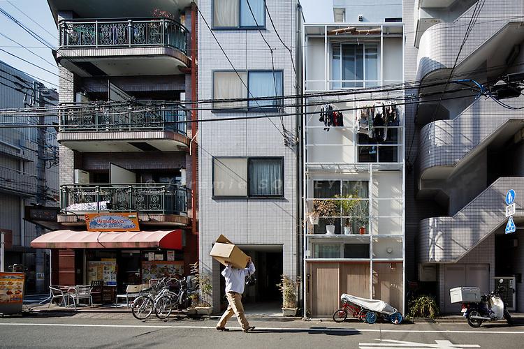 Tokyo, February 1st 2013 - Tower Machiya by Atelier Bow-Wow.