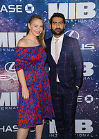 "11 June 2019 - New York, New York - Emily Gordon, Kumail Nanjiani. ""Men In Black: International"" New York Premiere held at AMC Lincoln Square. Photo Credit: Mario Santoro/AdMedia"