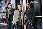 Matt (Josh Peck), Robert (Josh Hutcherson) and Daryl (Connor Cruise) in Red Dawn...- Editorial Use Only -..Supplied by face to face