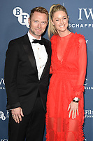 LONDON, UK. October 09, 2018: Ronana &amp; Storm Keating arriving for the 2018 IWC Schaffhausen Gala Dinner in Honour of the BFI at the Electric Light Station, London.<br /> Picture: Steve Vas/Featureflash