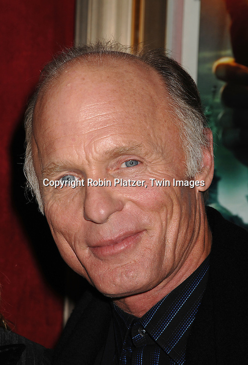 """Ed Harris.arriving to The World Premiere of """"National Treasure: Book of Secrets"""" on December 13, 2007 at The Ziegfeld Theatre. .Robin Platzer, Twin Images"""