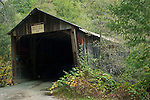 Old Oregon Covered Wooden Bridge, near North San Juan, California