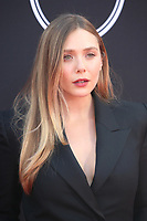 LOS ANGELES, CA - JULY 12: Elizabeth Olsen at The 25th ESPYS at the Microsoft Theatre in Los Angeles, California on July 12, 2017. Credit: Faye Sadou/MediaPunch