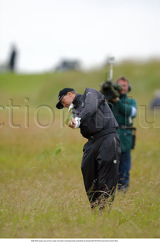 BOB TWAY plays out of the rough, The Open Championship, Muirfield, Scotland 020720 Photo:Glyn Kirk/Action Plus...Golf.2002