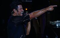 El cantante, bailar&iacute;n y actor puertorrique&ntilde;o Chayanne  , durante su concierto en el AVA Amphitheater de casino del Sol en Tucson Arizona , el 4 de septiembre 2015.<br /> <br /> CreditoFoto:LuisGutierrez