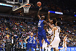 MILWAUKEE, WI - MARCH 16:  Middle Tennessee Blue Raiders forward JaCorey Williams (22) reaches to pull down a rebound during the first half of the 2017 NCAA Men's Basketball Tournament held at BMO Harris Bradley Center on March 16, 2017 in Milwaukee, Wisconsin. (Photo by Jamie Schwaberow/NCAA Photos via Getty Images)