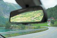 Rearview mirror, Norway