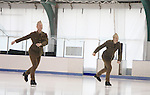 Celebrity skaters skate at Ice Theatre of New York's Celeb Skate 2013 on June 9, 2013 at the Sky Rink at Chelsea Piers, New York City, New York. (Photo by Sue Coflin/Max Photos)