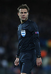 Referee Felix Brych during the Champions League Quarter Final 1st Leg, match at Anfield Stadium, Liverpool. Picture date: 4th April 2018. Picture credit should read: Simon Bellis/Sportimage