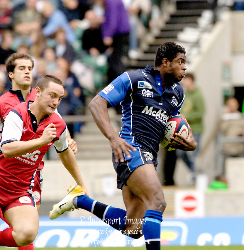 The Middlesex Sevens, Twickenham Stadium, Twickenham, GREAT BRITAIN, 12.08.2006. Rugby, Gloucester vs Sale Sharks,  Selorm KUADEY, Photo  Peter Spurrier/Intersport Images.email images@intersport-images.com...