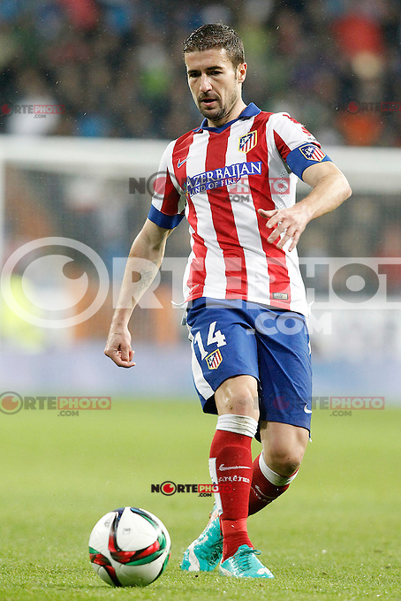 Atletico de Madrid's Gabi Fernandez during Spanish King's Cup match.January 15,2015. (ALTERPHOTOS/Acero) /NortePhoto /NortePhoto.com