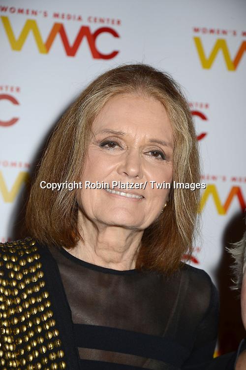 Gloria Steinem  attends the Women's Media Center 2012 Women's Media Awards on November 13, 2012 at Guastavinos in New York City.