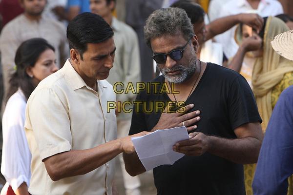 Padman (2018)<br /> Akshay Kumar &amp; R. Balki (Director)<br /> *Filmstill - Editorial Use Only*<br /> CAP/KFS<br /> Image supplied by Capital Pictures