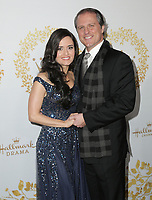 09 February 2019 - Pasadena, California - Danica McKellar, Scott Sveslosky. 2019 Winter TCA Tour - Hallmark Channel And Hallmark Movies And Mysteries held at  Tournament House.      <br /> CAP/ADM/PMA<br /> &copy;PMA/ADM/Capital Pictures