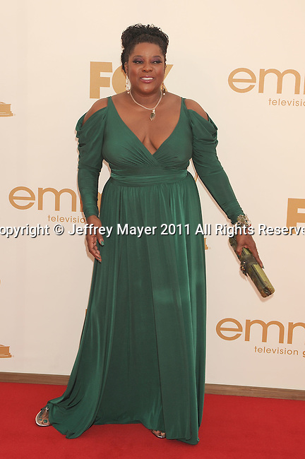 LOS ANGELES, CA - SEPTEMBER 18: Loretta Devine arrives at the 63rd Primetime Emmy Awards at the Nokia Theatre L.A. Live on September 18, 2011 in Los Angeles, California.