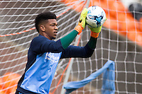 Jamal Blackman of Wycombe Wanderers during the Sky Bet League 2 match between Blackpool and Wycombe Wanderers at Bloomfield Road, Blackpool, England on 20 August 2016. Photo by James Williamson / PRiME Media Images.