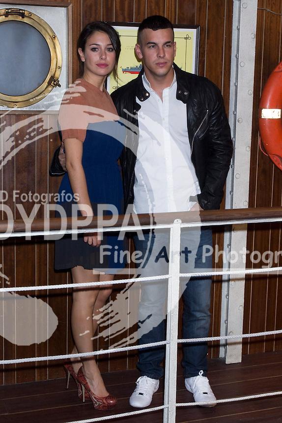 17/10/2012. Madrid. Spain. Presentation of the third season of  ´El Barco´ (The Boat). Blanca Suarez and Mario Casas. (C) Marta G. Rodriguez / DyD Fotografos