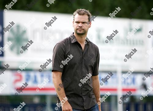 2009-08-09 / Seizoen 2009-2010 / Voetbal / Berchem Sport / Trainer Philip Van Dooren..Foto: Maarten Straetemans (SMB)