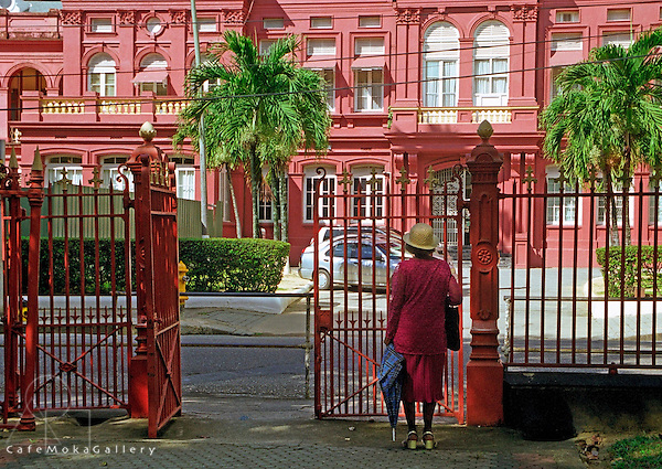 The Red House, Elsie Romany from Laventille praying daily for the government at the time the PNM was in power