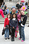 Poppy the Clown with Daniela Aravena, Susan Aslanogul, Kaleigh Walshe and Charlene Murray at the West Street Wonderland...Photo NEWSFILE/Jenny Matthews.(Photo credit should read Jenny Matthews/NEWSFILE)....This Picture has been sent you under the condtions enclosed by:.Newsfile Ltd..The Studio,.Millmount Abbey,.Drogheda,.Co Meath..Ireland..Tel: +353(0)41-9871240.Fax: +353(0)41-9871260.GSM: +353(0)86-2500958.email: pictures@newsfile.ie.www.newsfile.ie.FTP: 193.120.102.198.