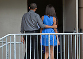 United States President Barack Obama walks with his daughter Malia into the Strathmore Music Center in Bethesda, Maryland, on Sunday, June 16, 2013. The Obama's were attending a dance performance with where their daughter Sasha was performing. <br /> Credit: Joshua Roberts / Pool via CNP