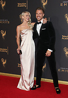 LOS ANGELES, CA - SEPTEMBER 09: Julianne Hough, Derek Hough, at the 2017 Creative Arts Emmy Awards at Microsoft Theater on September 9, 2017 in Los Angeles, California. <br /> CAP/MPIFS<br /> &copy;MPIFS/Capital Pictures
