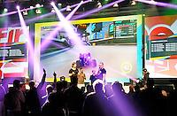 Nederland  Utrecht  2016. Het Firstlook Festival. Op 7, 8 en 9 oktober opent de Jaarbeurs in Utrecht haar deuren voor de 9de editie van het grootste game-evenement van de Benelux: Firstlook Festival. Het is een festival met o,a, games, gadgets, hardware, comics en eSports.  Foto Berlinda van Dam / Hollandse Hooogte.