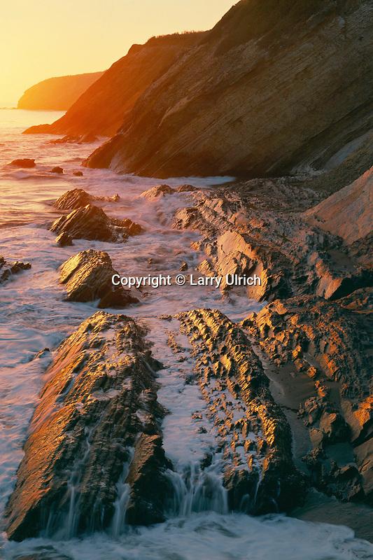 Sandstone headlands<br /> Gaviota State Park<br /> Santa Barbara County<br /> California