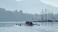 "Lucerne, SWITZERLAND, 12th July 2018, Friday  View,  Seeclub ""Luzern"",  ""Lake Lucerne',  Photographer, Karon PHILLIPS,"