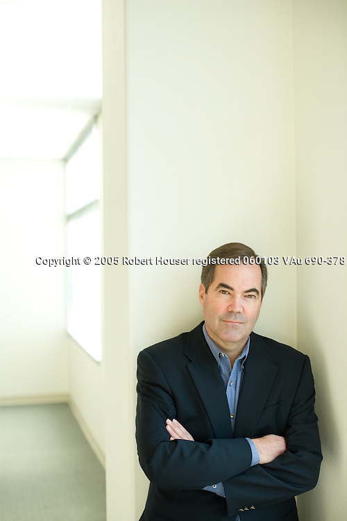 Richard Palmer - VP/GM Security - Cisco Systems: Executive portrait photographs by San Francisco - corporate and annual report - photographer Robert Houser.