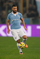 Filip Djordjevic    in action during the Italian Serie A soccer match between   SS Lazio and FC Juventus   at Olimpico  stadium in Rome , November 22, 2014