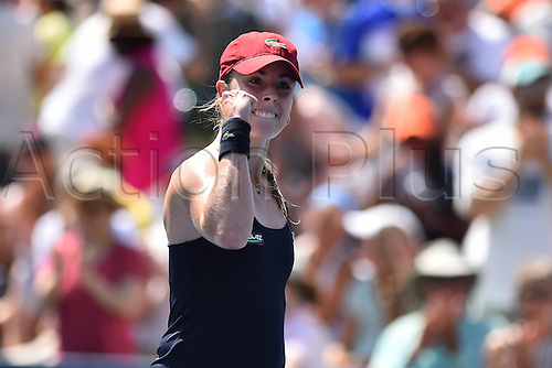 27.08.2014. Flushing Meadows, NY, USA. Day 3 of the US Open championships. Alize Cornet (Fra)