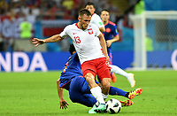 KAZAN - RUSIA, 24-06-2018: Maciej RYBUS jugador de Polonia en acción durante partido de la primera fase, Grupo H, entre Polonia y Colombia por la Copa Mundial de la FIFA Rusia 2018 jugado en el estadio Kazan Arena en Kazán, Rusia. / Maciej RYBUS player of Polonia in action during the match between Polonia and Colombia of the first phase, Group H, for the FIFA World Cup Russia 2018 played at Kazan Arena stadium in Kazan, Russia. Photo: VizzorImage / Julian Medina / Cont