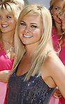 Actress Laura Bell Bundy arrives to the 2008 MTV Movie Awards on June 1, 2008 at the Gibson Amphitheatre in Universal City, California.