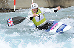 27/04/2013 - GB Canoe Slalom Team Selection - Lea Valley White Water Park
