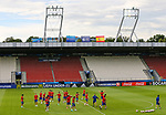 Spain's players warm up during the training session at the Stadion Cracovia in Krakow. Picture date 29th June 2017. Picture credit should read: David Klein/Sportimage