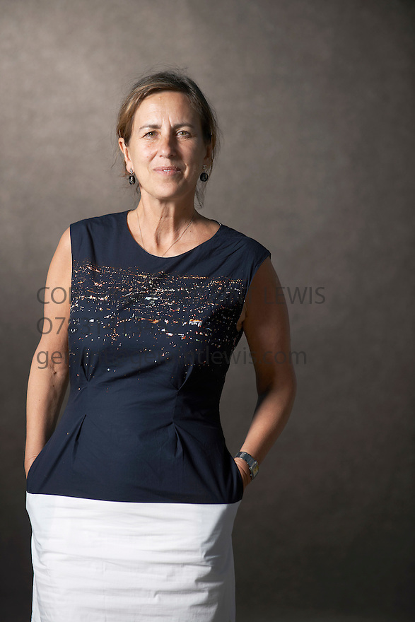 Kirsty Wark  TV Personality  at The Edinburgh International Book Festival   . Credit Geraint Lewis
