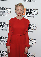 "NEW YORK, NY - OCTOBER 12: Carey Mulligan attends the 55th NYFF World Premiere of ""Mudbound"" at Alice Tully Hall on October 12, 2017 in New York City. Photo Credit: John Palmer/MediaPunch"