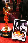 &quot; MEET THE OSCARS - An Exhibition of 50 Golden Statuettes &quot; Fifty Oscars, two statuettes that belonged to Hollywood legends, and one statuette for the public to hold will be on display at &ldquo;Meet the Oscars, New York&rdquo; at Times Square Studios in New York City beginning on Monday, February 12, at noon. The exhibition will remain open through Oscar&reg; Saturday, February 24.<br /> <br /> &ldquo;Meet the Oscars, New York&rdquo; provides visitors the opportunity to walk among the displays and see the statuettes that were awarded to Clark Gable for his performance in It Happened One Night (1934) and to Bette Davis for her performance in Jezebel (1938). Also, for the first time in New York City, visitors will be able to be photographed holding an Oscar.<br /> <br /> The other 50 statuettes featured in the exhibition will be presented to winners at a future Academy Awards presentation. (The statuettes on display in &ldquo;Meet the Oscars, Los Angeles&rdquo; from February 9 through 24 will be awarded to winners at the 79th Academy Awards ceremony on February 25.)<br /> <br /> Each Oscar weighs in at 8 1/2 pounds and stands <br /> 13 1/2  inches tall. Handmade annually by R.S. Owens &amp; Company in Chicago, the statuettes are made of britannia, a metal alloy, and are plated in copper, nickel, silver and 24-karat gold.<br /> February 24, 2007