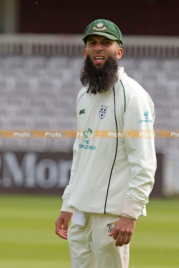 Moeen Ali, Worcestershire CCC - Middlesex CCC vs Worcestershire CCC - LV County Championship Division One Cricket at Lords Ground, St Johns Wood, London - 05/05/12 - MANDATORY CREDIT: Ray Lawrence/TGSPHOTO - Self billing applies where appropriate - 0845 094 6026 - contact@tgsphoto.co.uk - NO UNPAID USE.
