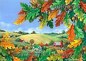 Randy, STILL LIFE STILLLEBEN, NATURALEZA MORTA, paintings+++++Autumn-Farm,USRW06,#i#