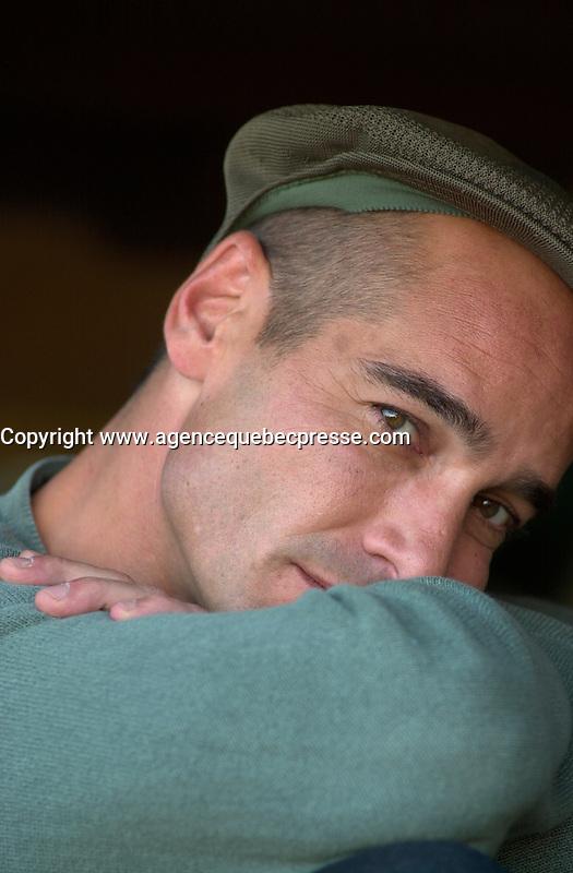 Jean-Marc Barre<br /> at the 2002 World Film Festival -<br /> au Festival des Films du Monde 2002<br /> <br /> photo : (c)  Images Distribution
